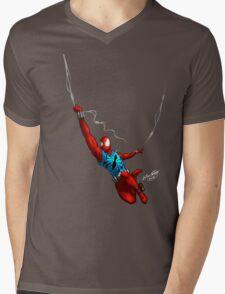 Scarlet Spider (No background) Mens V-Neck T-Shirt