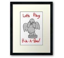 The Weeping Angels Game Framed Print