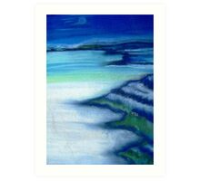 Atlantic coastline  Art Print