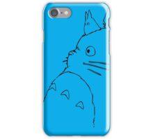 TOTORO BLUE iPhone Case/Skin