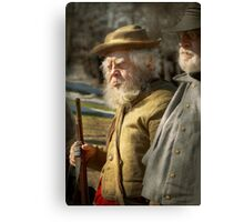 Army - A seasoned vet Canvas Print