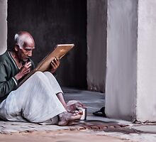 Indian Old Man by Vicasso