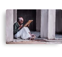 Indian Old Man Canvas Print