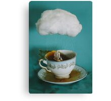 storm in a teacup no.3 Canvas Print