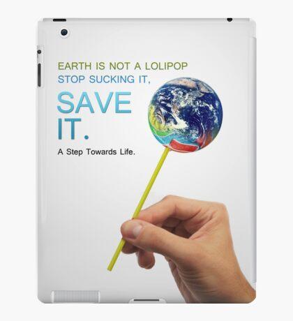 Save Earth iPad Case/Skin