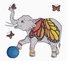 Butterfly Elephant Kids Clothes