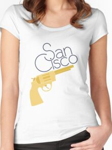 Golden Revolver Women's Fitted Scoop T-Shirt