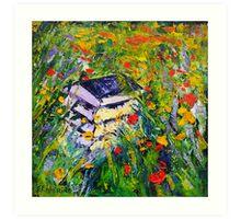 Poppy Field Fine Art Oil Painting by Ekaterina Chernova Art Print