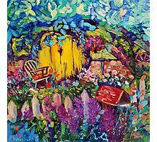 Hobbit Hole Original Oil Painting Ekaterina Chernova Photographic Print