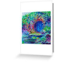 Hobbit Hole Original Oil Painting Ekaterina Chernova Greeting Card