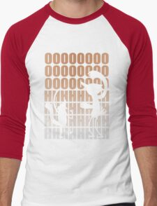 Regular Show / Mordecai & Rigby Tee / Light Variant Men's Baseball ¾ T-Shirt