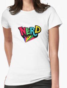 Nerd Spotlight Womens Fitted T-Shirt