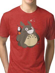 Totoro and Friends Tri-blend T-Shirt