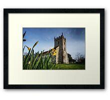 Easter Church Framed Print
