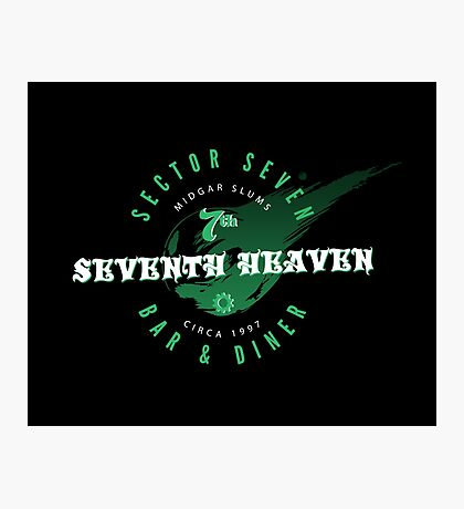 Seventh Heaven Photographic Print