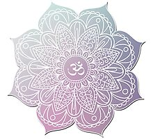 Yoga Symbol Photographic Print