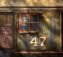 Train - A door with character by Mike  Savad