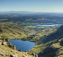 The View East From Levers Hause by Jamie  Green