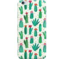 cute lil cacti iPhone Case/Skin
