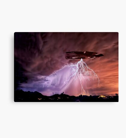 Once Upon a Monsoon Night Canvas Print