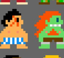 8 Bit Street Fighter Sticker