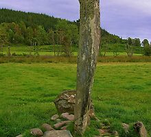 Kilmartin Standing Stone by lezvee