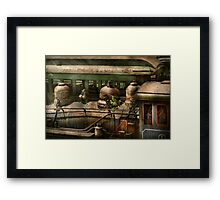 Train - Showing your age Framed Print