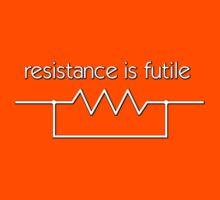 Resistance is futile Kids Clothes