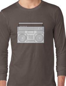 Speaker Vector Art Long Sleeve T-Shirt