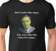 Fred Rogers Smash! Unisex T-Shirt