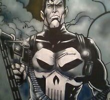 Punisher detail. by imajica