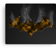 Smoking Batman Canvas Print