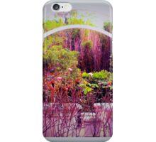 Wedding garden iPhone Case/Skin