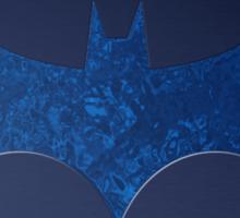 Blue Water Batman Sticker