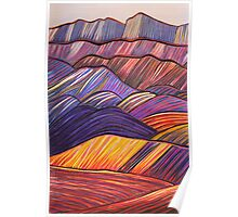 Perfect Pastels - West Wall Wilpena Pound Poster