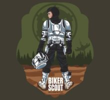 BIKER SCOUT SOLDIER by Alienbiker23