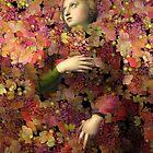 Natalia - Des femmes et des Fleur series by Aimelle