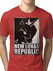 New Lunar Republic propaganda Tri-blend T-Shirt