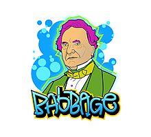 Babbage - Graffiti Photographic Print