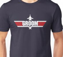 Custom Top Gun Style Style - Groom Unisex T-Shirt