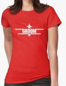 Custom Top Gun Style Style - Groom T-Shirt
