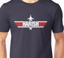 Custom Top Gun Style Style - Harish Unisex T-Shirt