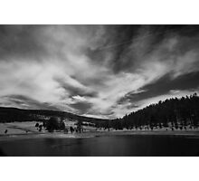 Black Lake Photographic Print