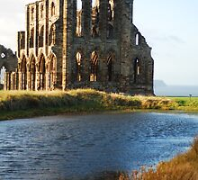 Whitby Abbey by TwistedtheClown