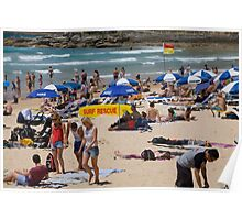 Manly Beach Sydney  Poster