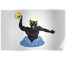 Manther Water Polo Poster