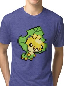 Pokemon - Sewaddle Sprite Tri-blend T-Shirt