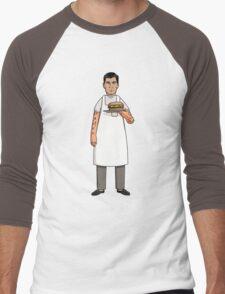 Archer's Burgers Men's Baseball ¾ T-Shirt