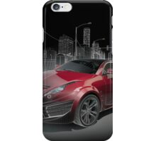 Red Cad iPhone Case/Skin