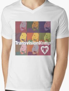 transvision vamp Mens V-Neck T-Shirt